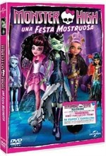 La copertina di Monster High - Una festa mostruosa (dvd)