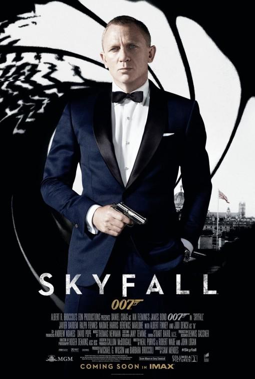 Skyfall: nuovo poster USA