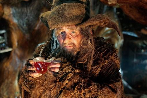 Sylvester McCoy nei panni di Radagast the Brown in una scena di Lo Hobbit - Un viaggio inaspettato