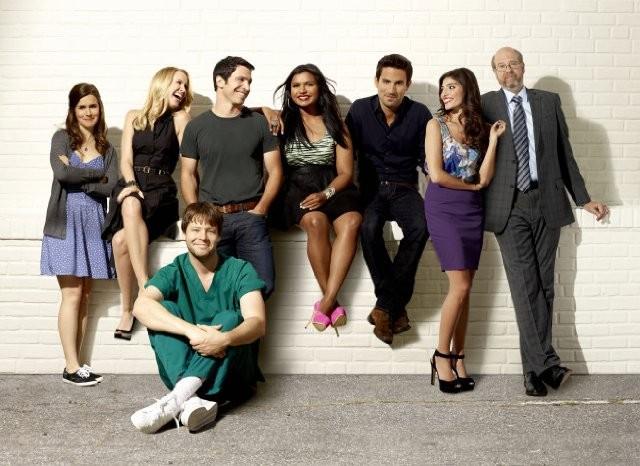 The Mindy Project: Una foto promozionale del cast della serie
