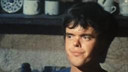 Arnaldo Fabrizio nella scena di un film