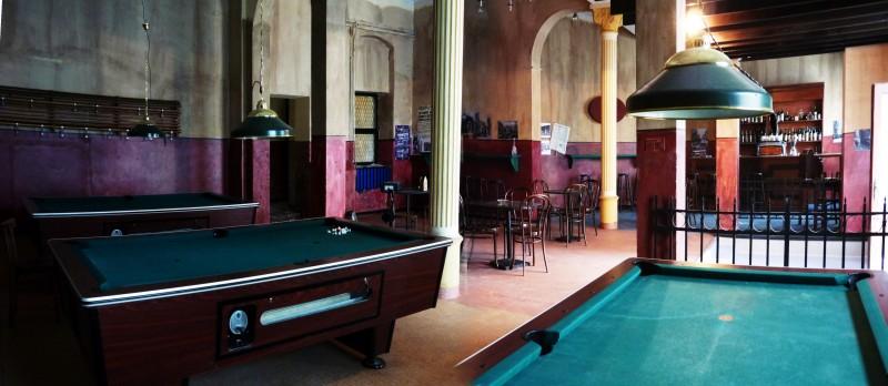 Il Commissario Nardone -  scenografia Bar Cangemi realizzata da G. Pirrotta
