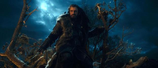 Il selvaggio Richard Armitage in una cupa immagine di Lo Hobbit - Un viaggio inaspettato