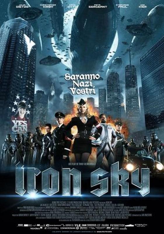 Iron Sky: la locandina italiana del film