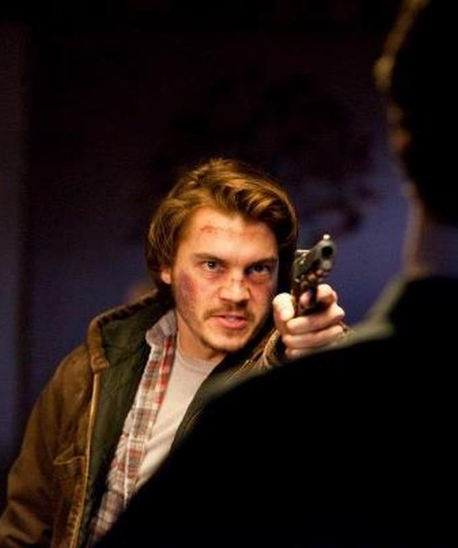 Killer Joe: Emile Hirsch in una concitata scena del film
