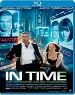 La copertina di In Time (blu-ray)