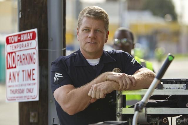 Southland: Michael Cudlitz in una scena dell'episodio Underwater