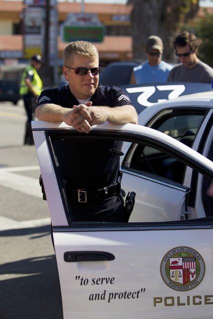 Southland: Michael Cudlitz in una scena dell'episodio Wednesday
