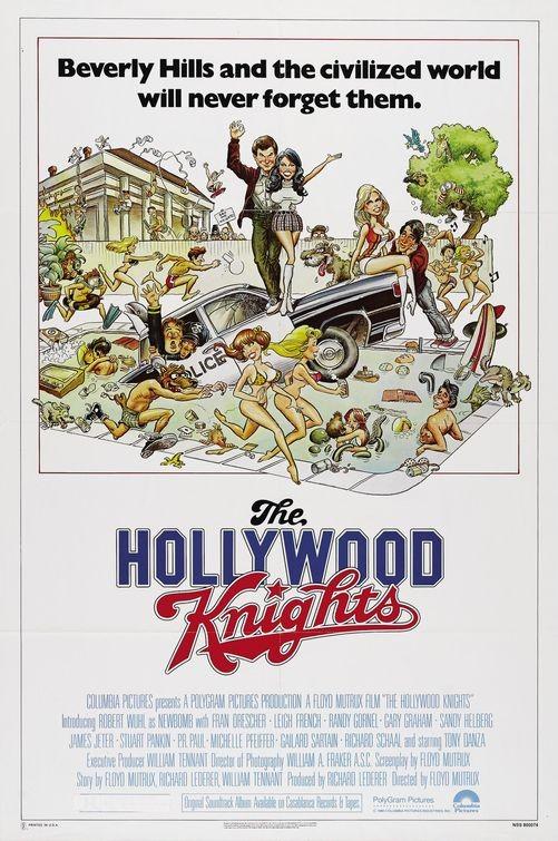The Hollywood Knights: la locandina del film