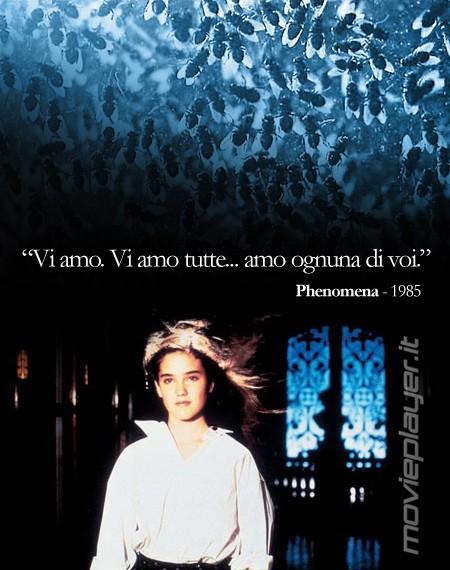 Jennifer Connelly in Phenomena di Dario Argento - la nostra eCard: condividi sui social le immagini e frasi dei tuoi film e attori preferiti!