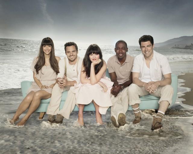 New Girl: il cast della stagione 2 in una foto promozionale