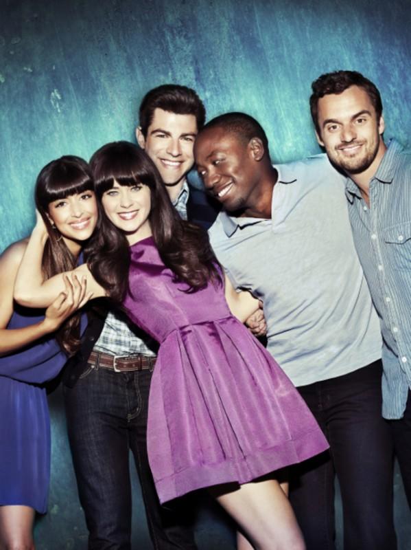 New Girl: una foto promozionale del cast della seconda stagione