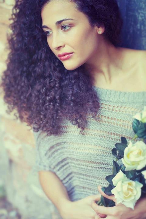 Una foto dell'attrice siciliana Katia Greco