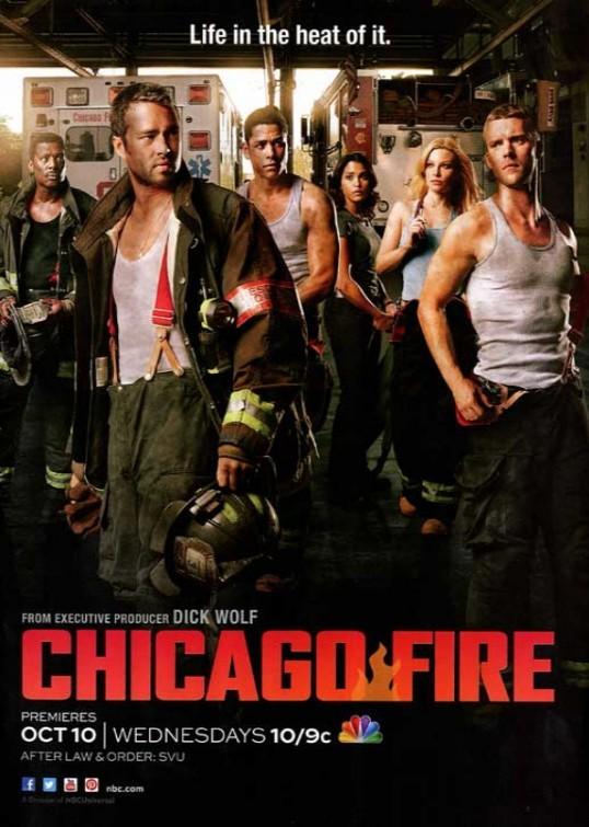 Chicago Fire: un poster della serie