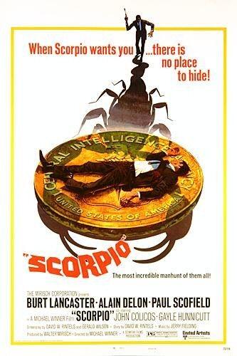 Scorpio: la locandina del film