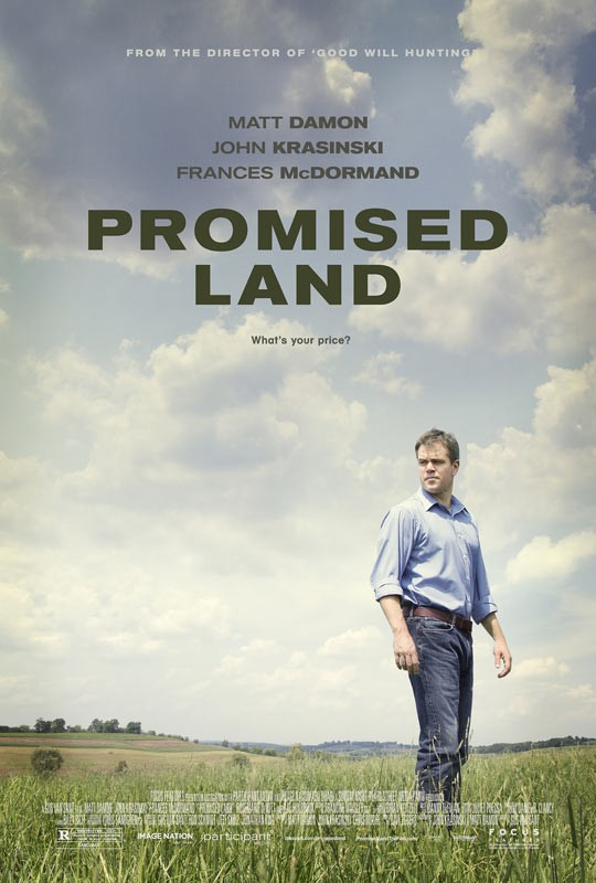 Promised Land: la locandina del film