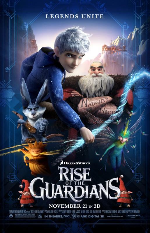 Rise of the Guardians: ancora un magico poster