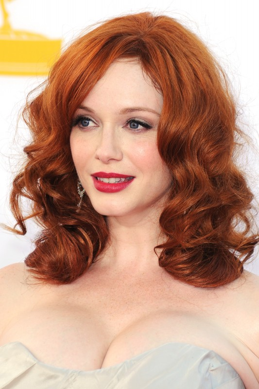 Emmy 2012: Christina Hendricks è tra gli interpreti di Mad Men