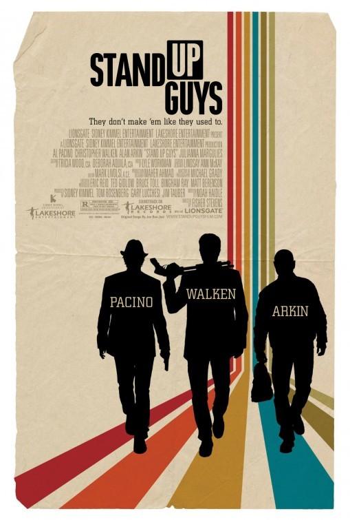 Stand Up Guys: la locandina del film