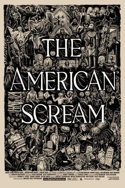 The American Scream: la locandina del film