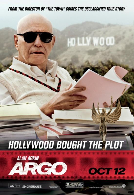 Argo: character poster del personaggio interpretato da Alan Arkin