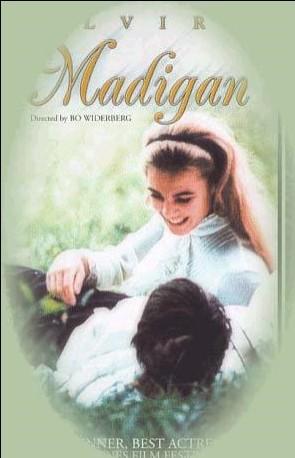 Elvira Madigan: la locandina del film