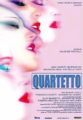 Quartetto: la locandina del film