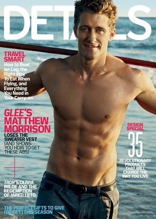 Matthew Morrison in cover su Details