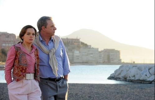 Ricky Tognazzi ed Eugenia Costantini in una scena della fiction Il caso Enzo Tortora - Dove eravamo rimasti?