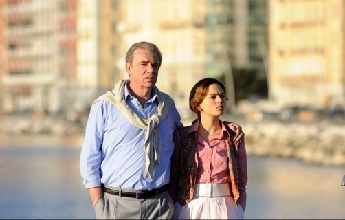 Ricky Tognazzi ed Eugenia Costantini nella fiction Il caso Enzo Tortora - Dove eravamo rimasti?
