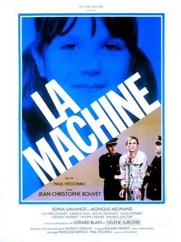 La machine: la locandina del film