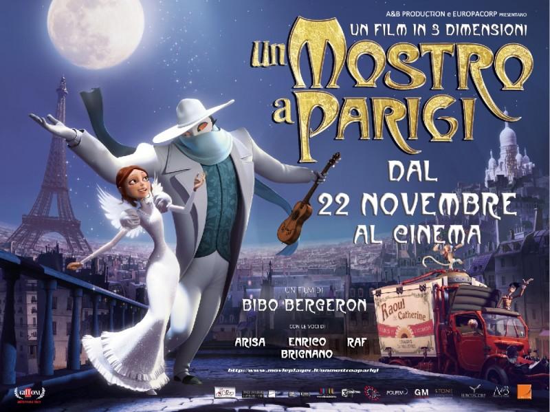 Un mostro a Parigi: immagine promozionale