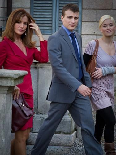 Non Smettere di Sognare: Luca Fiamenghi in una scena con Giuliana De Sio e Alice Bellagamba