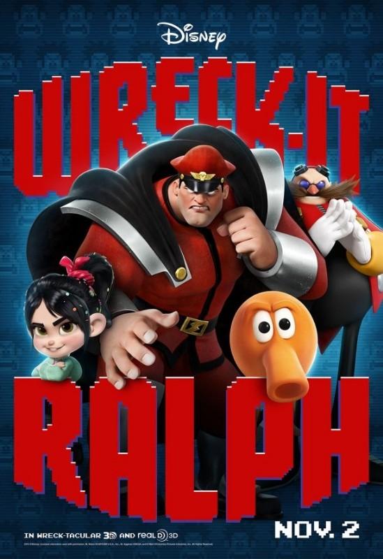 Ralph Spaccatutto: ancora personaggi coloratissimi nel nuovo poster del film