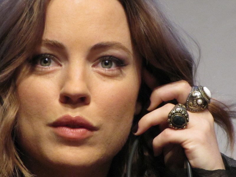 RomaFictionFest 2012: la bella Melissa George presenta la spy-series Hunted