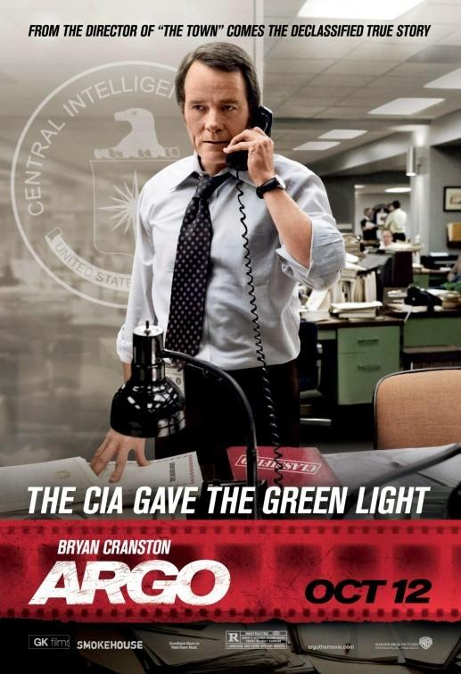 Argo: character poster del personaggio interpretato da Bryan Cranston