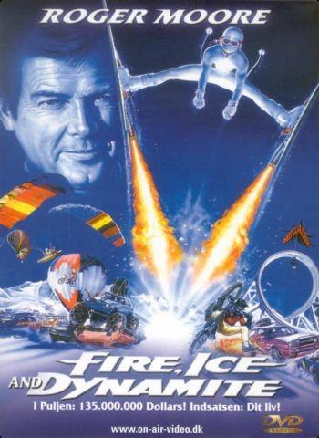 Fuoco, neve e dinamite: la locandina del film