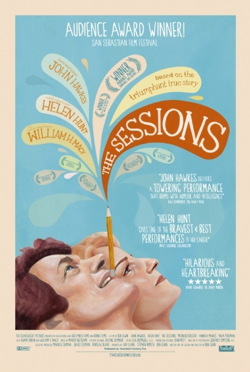 The Sessions: poster UK