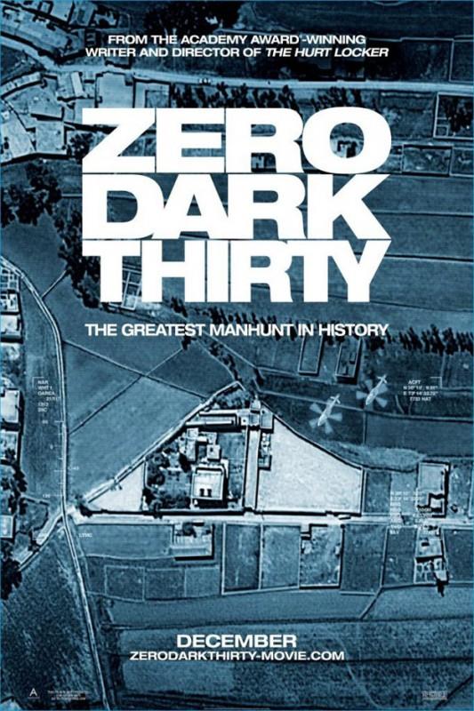 Zero Dark Thirty: la nuova locandina