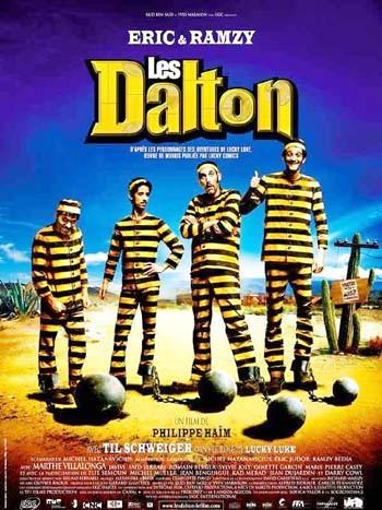 Les Dalton: la locandina del film