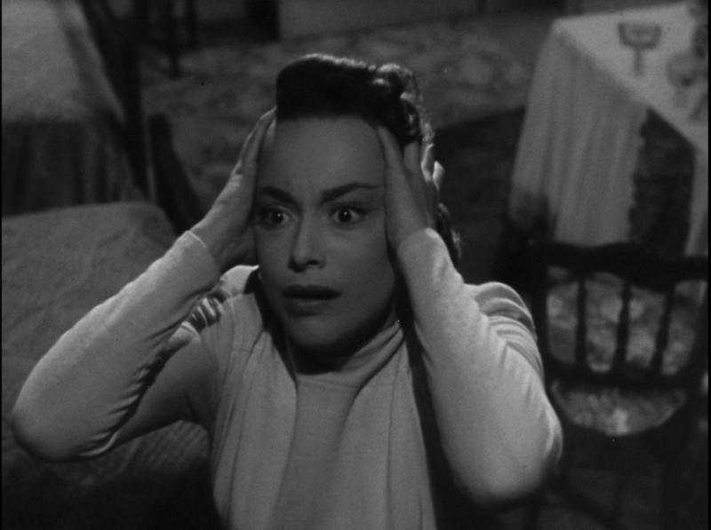 Lo specchio scuro olivia de havilland in una drammatica scena del film 252895 - Lo specchio film ...