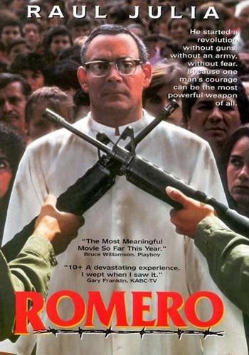 Romero: la locandina del film