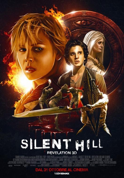Silent Hill: Revelation 3D, poster italiano