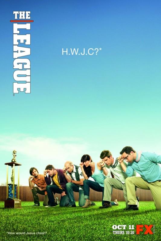 The League: un poster della stagione 4