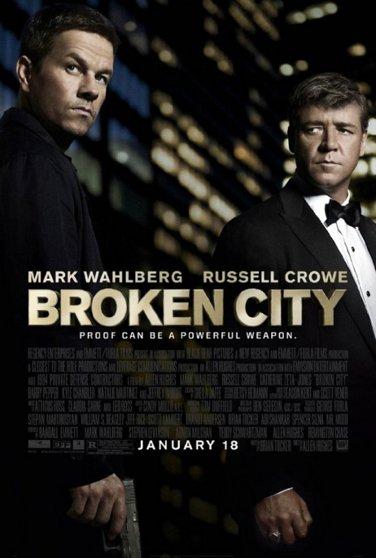 Broken City: la locandina del film