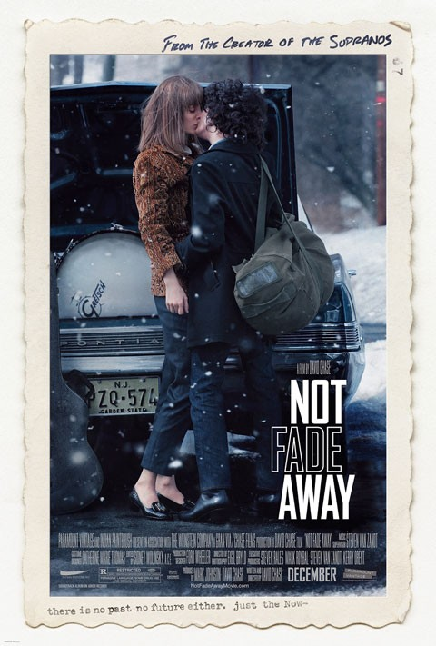 Not Fade Away: la locandina del film