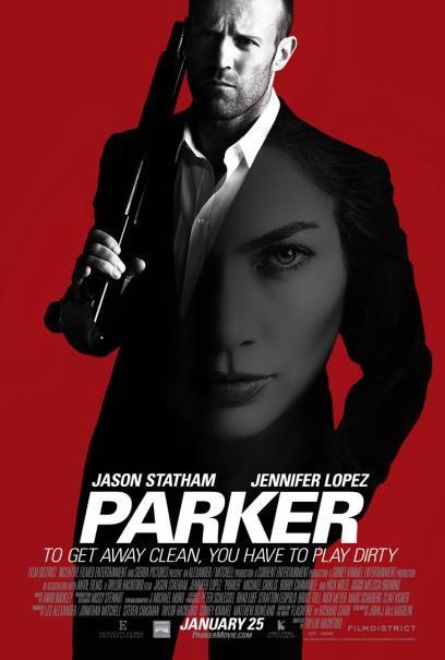Parker: la locandina del film
