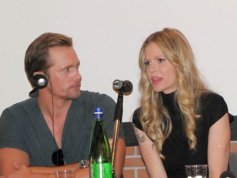 True Blood: Alexander Skarsgard e Kristin Bauer al RomaFictionFest 2012 per presentare la stagione 5 della serie