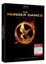 La copertina di Hunger Games - Deluxe Edition (blu-ray)