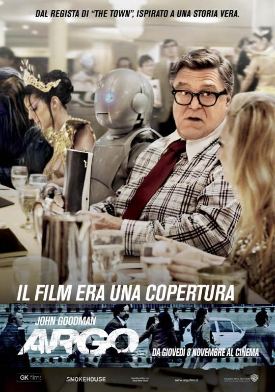 Esclusivo su Argo: il character poster italiano del personaggio interpretato da John Goodman